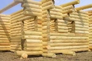 строитеьство дома из бревна